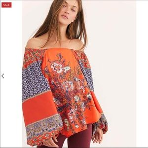 Free People | Positano Printed Blouse